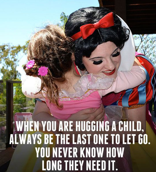 cool-quote-hugging-child-Disney-worker